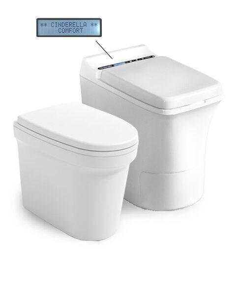 Forbrennings toalett