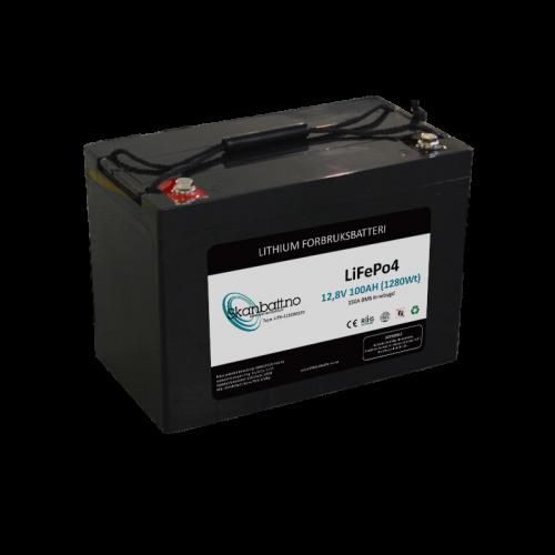 skanbatt_lithium_batteri_12v_100ah_150a_bms_Mclea.no